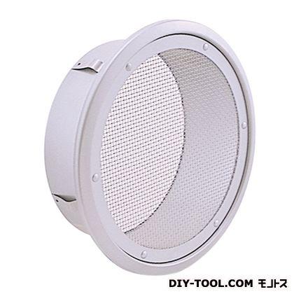 外壁用ステンレス製換気口(フラットグリル)金網型10メッシュ (CN65S)