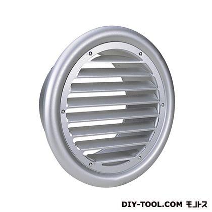 外壁用アルミ製換気口(フラットグリル)内向ガラリ型 (SC75)