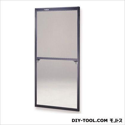 フリーサイズ網戸 H85.5〜88.8×W65〜67用 ブラック (30-94)