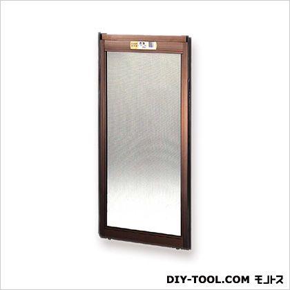 フリーサイズ網戸外付 H39~42.3×W87.5~89.5用 ブロンズ  12-60T