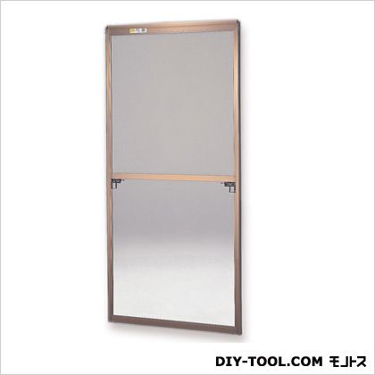 フリーサイズ網戸 H80~83.3×W38.5~40.5用 ブロンズ  28-30
