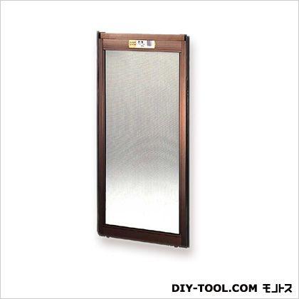 フリーサイズ網戸 H70.5~73.8×W61.5~63.5用 ブロンズ  25-45