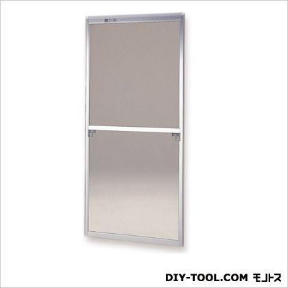 フリーサイズ網戸外付 H117.5~120.8×W87.5~89.5用 シルバー  38-60T