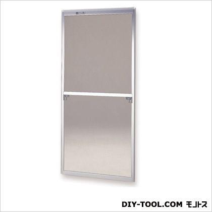 フリーサイズ網戸 H80~83.3×W38.5~40.5用 シルバー  28-30