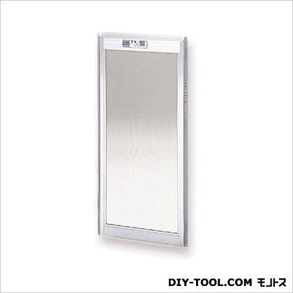 フリーサイズ網戸 H31.5~34.8×W129.5~131.5用 シルバー  12-92