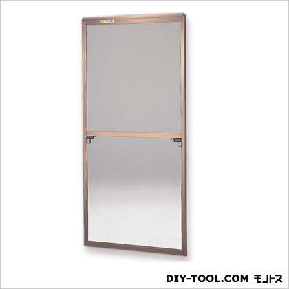 フリーサイズ網戸外付 H123.5~126.8×W67.5~69.5用 ブロンズ  40-94T