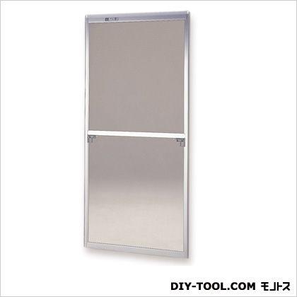 フリーサイズ網戸外付 H178~181.3×W133~135用 シルバー  58-92T