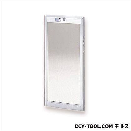 フリーサイズ網戸木製窓用 H60.5~63.8×W42~44用 シルバー (20-3M)