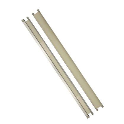 室内木製ドア用指はさみ防止スクリーン 指はさまんぞう ステンカラー(ST) 30x55x1200 YBH-12
