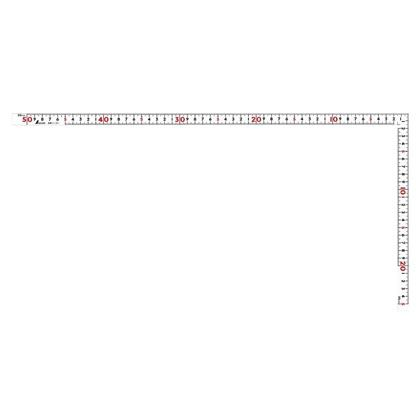 曲尺同厚  ホワイト  50cm  表裏同目  名作 ホワイト  11101