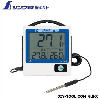 デジタル温度計 G-1  129×117×24.5mm 73045  個