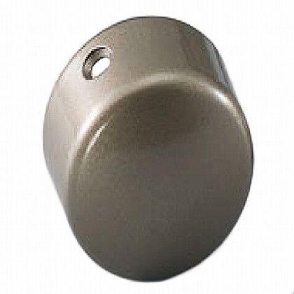 シロクマ エンドキャップ横穴 アンバー 35径 BR-108