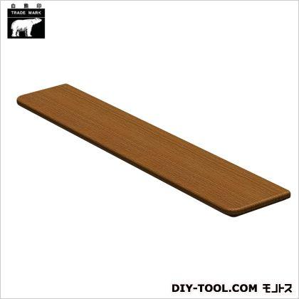 集成材棚板B形 ミディアムオーク 110×600mm TG-102