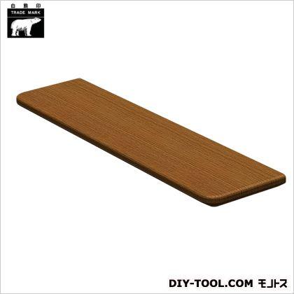 集成材棚板B形 ミディアムオーク 110×450mm TG-102