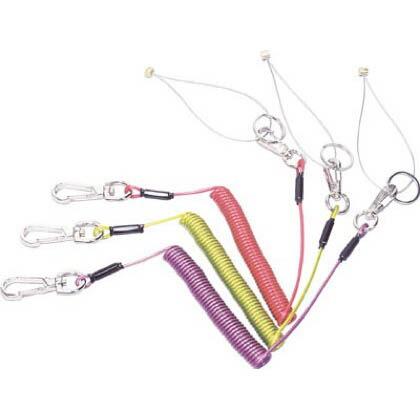 安全ロープ(ステンレスワイヤー芯) (1本)   ARS10Y