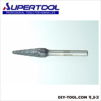 超硬バー  軸径6mm (SBH7C03)