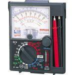 三和電気計器 SANWA アナログマルチテスタ 保護ケース一体型 1個 SP18D   SP18D 1 個