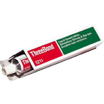 液状ガスケット(シリコーン系無溶剤タイプ) 白 100g TB1211 1 本