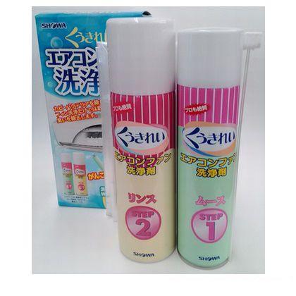 くうきれいエアコンファン洗浄剤化粧箱タイプ   AFC-502
