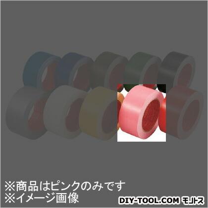 カラー布粘着テープ ピンク 50mm×25m No.3390