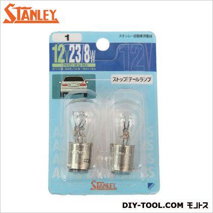 スタンレー電気 ブリスター電球 12V 23/8W  11.3x7.5x2.8cm NO1 2 ヶ