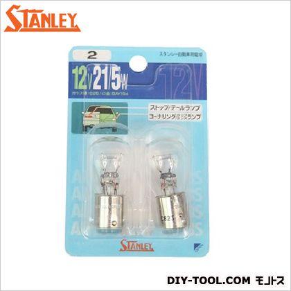 スタンレー電気 ブリスター電球 12V 21/5W  10.9x7x2.7cm NO2 2 ヶ