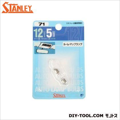 スタンレー電気 スタンレー B/P 電球 12V5W  11x7.1x1.7cm NO71