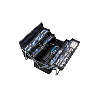 メカニックツールセット両開キ トレイ付 9.5SQ   54006