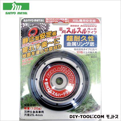三陽金属 草刈スルスル ハード 外側(黒) 外径110mm No0850  個