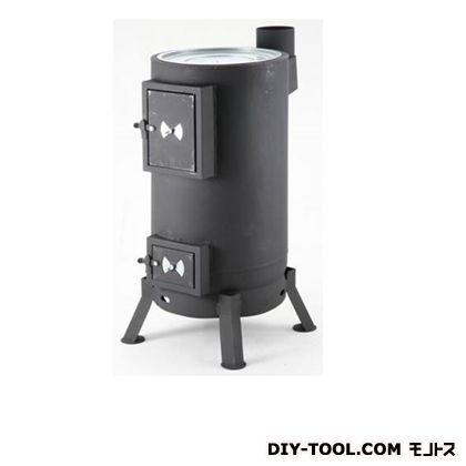 丸型薪ストーブ ブラック w380×D510×H900 OS-0675  台