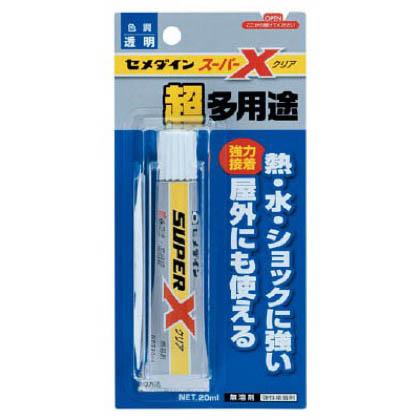 スーパーX 超多用途 クリア P20ml (AX-038)