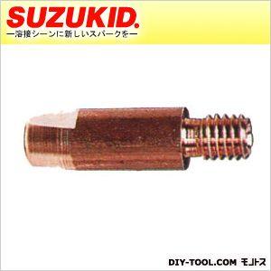 ノンガス軟鋼用チップ0.8Φアーキュリー120/160専用補修部品   P-601 5個 入
