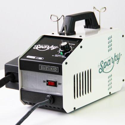 ノンガス半自動溶接機 DIY FACTORY sparky(スパーキー) スターターセット ホワイト (SPK-80w)