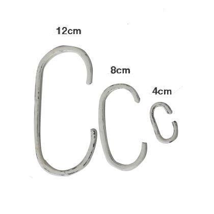 鉄のC ホワイト 12cm (1212ID-61-1-12) 10個