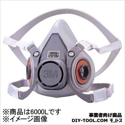 防毒マスク面体 6000  L 6000L 1 個