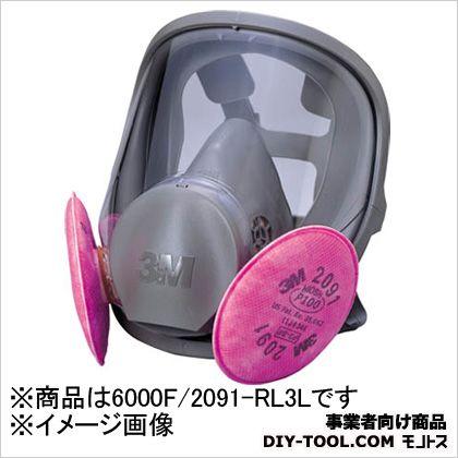 全面形防じんマスク R3  L 6000F/2091-RL3L 1 ヶ