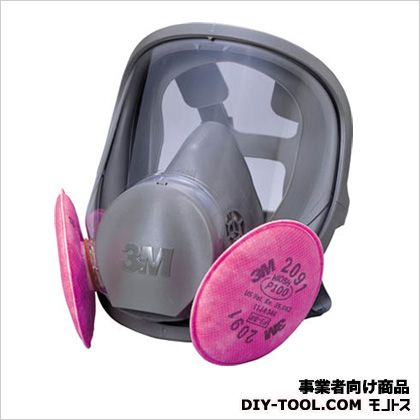 全面形防じんマスク RL3  M 6000F2091RL3M