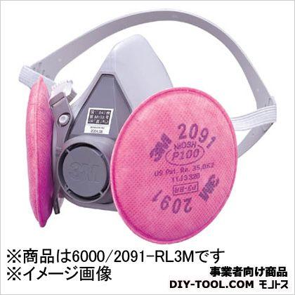 半面形防じんマスク RL3  M 6000/2091-RL3M 1 ヶ