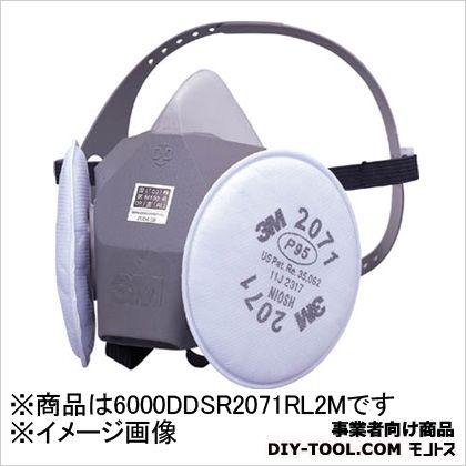 半面形防じんマスク RL2  M 6000DDSR/2071-RL2M