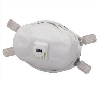 使い捨て式防じんマスク DL3 排気弁付き   8293-DL3 5 枚