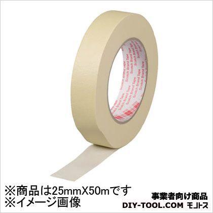 クレープ紙マスキングテープ  25mm×50m 2143MNE