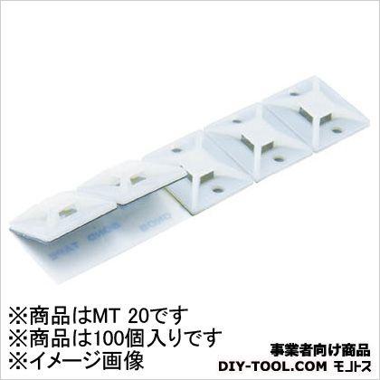結束バンド用固定具屋内用 (MT20)
