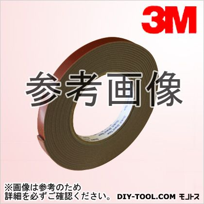 3M(スリーエム) 両面粘着テープ7120 (117016)  厚み2.0mm×幅6mm×長さ5m 7120 6 AAD 2 巻入