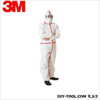 化学防護服 ホワイト L 4565 L