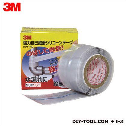 強力自己融着シリコーンテープ  25mm×1.5m HDT-150