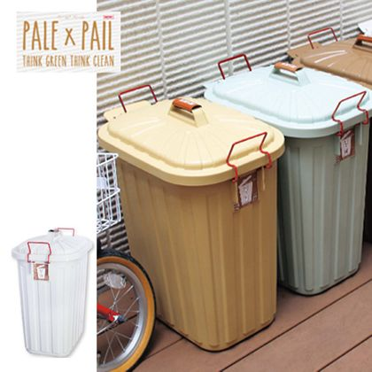 PALEPAIL(ペール×ペール) ゴミ箱 ホワイト 60L 234241