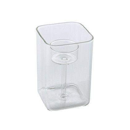 フラワーベース LABO GLASS キャンドルホルダー CH   YMGR1010
