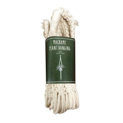 スパイス マクラメプラントハンキング No1 ベージュ 高さ:80(cm) RHLG5110