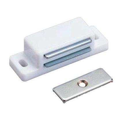 マグネットキャッチ 白 50mm (71500)