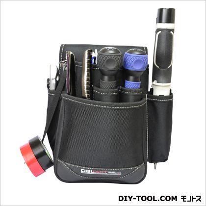 腰袋 ブラック 245×220×150mm (DT-28-BK)